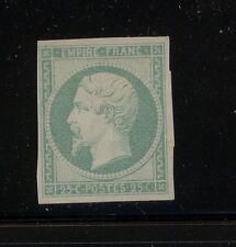 France  #17  color proof   green             KL0615