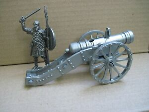 Gun with shells for 1800 Napoleonic toy soldiers 1/32 Biplant