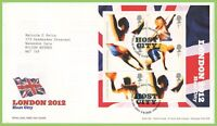 G.B. 2005 London 2012 Olympics m/s Royal Mail First Day Cover, Tallents House