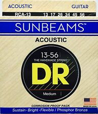 DR RCA-13 Sunbeam Acoustic Guitar Strings Med-heavy 13-56 gauge