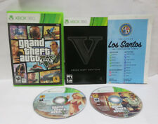 360 GTA V GTA 5 Grand Theft Auto V Microsoft Xbox 360 Complete With Map Tested