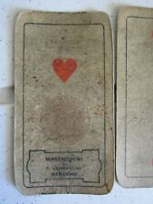 mazzo di carte antiche 1926