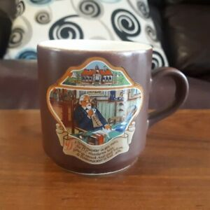 Vintage Villeroy & Boch Luxembourg De Bovenmeester (The Headmaster) Coffee Cup