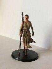 REY figure statua PVC 10 cm STAR WARS IL RISVEGLIO DELLA FORZA  DISNEY