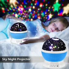Smart LED Kids Night Lights Star Projector for Home Bedroom USB Power Baby lamp