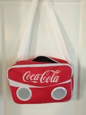 COCA-COLA Stereo Speaker Bag for Apple & Android Devices NWT