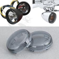 Smoke Turn Signal Lens Cover Für Harley Davidson XL883 1200 Sportster 1986-2015