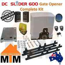 Automatic Electric Sliding Gate Motor Opener 600kg Remote Opener Complete Kit