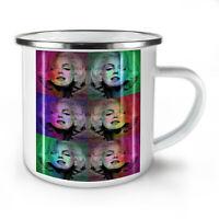 Marilyn Art Celebrity NEW Enamel Tea Mug 10 oz   Wellcoda