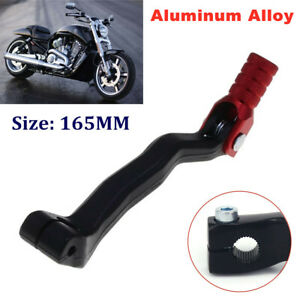 165MM Foldable Universal Motorcycle Gear Lever Foot Bracket Kick Starter Pedal