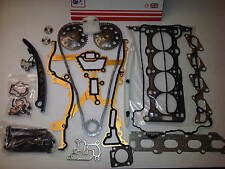 VAUXHALL CORSA 1.2 1.4 Z12XEP Z14XEP HEAD GASKET SET BOLTS + TIMING CHAIN KIT