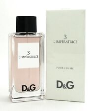 3 L'Imperatrice by Dolce & Gabbana 3.3 oz. EDT Spray for Women. New DAMAGED Box.