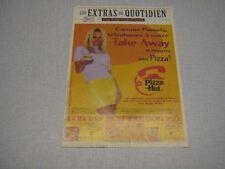 PAMELA ANDERSON PUBLICITE BELGIQUE PIZZA HUT 1997