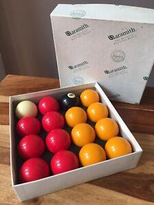 Aramith Belgium Billiard Balls