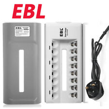 EBL 808 8 Bay AA AAA Battery Charger for Ni-MH Ni-CD Rechargeable Batteries
