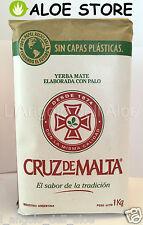 YERBA MATE CRUZ DE MALTA 1000gr - CON PALO - L'ORIGINALE TÈ ARGENTINO