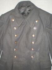Vintage Russian Soviet Uniform Army Winter Coat Military Woolen Overcoat USSR M