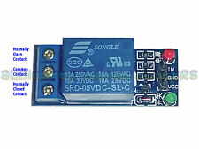 Relay Module 10A Single Channel - Arduino 5v to 240v AC Mains Control  UK SELLER