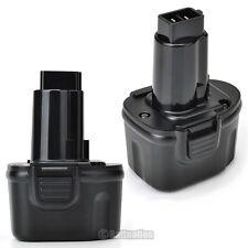 2 x 7.2V 3.0AH Battery for DEWALT DE9085 DW9057 DW925K-2 7.2 Volt Cordless Drill