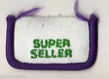 Girl Scouts Embroidered Badge Patch~Cookies~1987~Hometown Parade~Super Seller