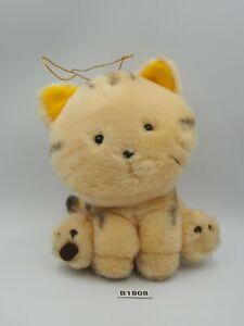 """TAMA & Friends B1808 Cat TORA SEGA 1993 Plush 6"""" Stuffed Toy Doll japan"""