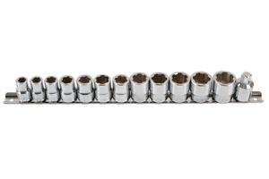 "Laser 6834 Socket Set Damaged / Undamaged Nuts 3/8""D 13pc"