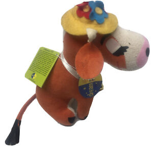R.Dankin&Co.Dream Pets Clarabelle Cow Plush Toy Stuffed Animal Collectible NWT