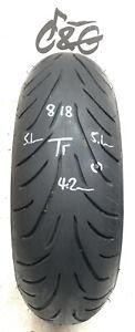 Bridgestone Battlax T31r GT     190/55zr17 75w     Part Worn Motorcycle Tyre 818