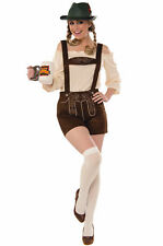 Forum Novelties 'Lederhosen' Women's Adult Costume Size M/L (8-12) #75781