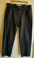 Harley Davidson Men's Genuine Motor Clothes Jeans Size 42 x 32 Black Relaxed Leg