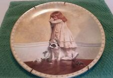 "Royal Doulton 'The Original ""In Disgrace""' Plate W/hanger for wall."