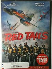 Red Tails (Rental Ready) DVD Blockbuster Case Free Shipping