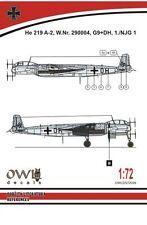Owl 1/72 Heinkel He-219A-2 G9+DH # S7226