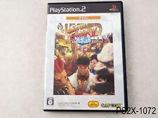 Hyper Street Fighter 2 II Best Playstation 2 Japanese Import JP PS2 US Seller B