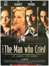 THE MAN WHO CRIED Affiche Cinéma / Movie Poster Christina Ricci 53x40