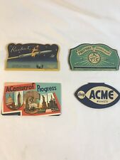 Vintage Lot 4 Collectible Needle Books