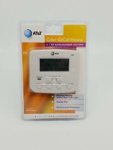 AT&T Display Caller ID/Call Waiting Model 436 - 90 Name/Number Caller ID - NEW
