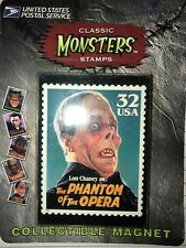 UNITED STATES POSTAL SERVICE CLASSIC UNIVERSAL MONSTERS MAGNET