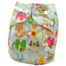 New Baby Boy Boyish Modern Cloth Nappies MCNs Diaper Adjustable Nappy (D27)