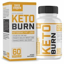 Extra Strength Ketogenic Fat Burner Nootropic Supplement KETO Burn SHIP World