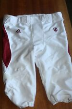 Indiana University 2010 Game Worn Football Pants by Adidas size 38