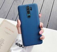 Carcasa Funda Silicona Para Movil Xiaomi Redmi 9 7A note 9 Pro Mi 3 Azul Oscuro