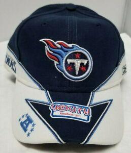 Tennessee Titans NFL Reebok Children Unisex Navy Blue Curved Brim OSFM Cap/Hat