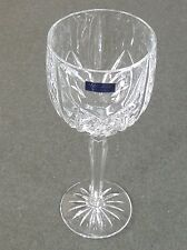 "6 Waterford Marquis Crystal 8 5/8"" Tall Water Goblets Wine Glass Brookside New"
