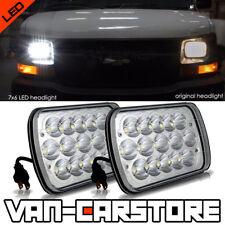 "Pair 7x6"" LED Sealed Headlights Headlamps Chevy Express Cargo Van 1500 2500 3500"