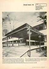 1970 Main Entrance, Divisional Hq For Thames Valley Police Authority Bletchley