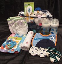 Reborn baby doll diaper bag complete accessory bottles diapers pacifier