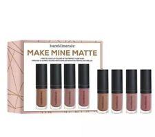Bare Minerals Make Mine Matte 4 Liquid Lip Colors