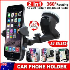 360° Rotation Car Windshield Mount Holder For Universal Mobile Phone Cradle GPS
