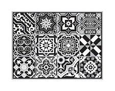 TIVA DESIGN 4pcs PVC Placemats Table Place Settings Mats Oriental Style 33x43 cm